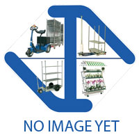 Rolling container frame