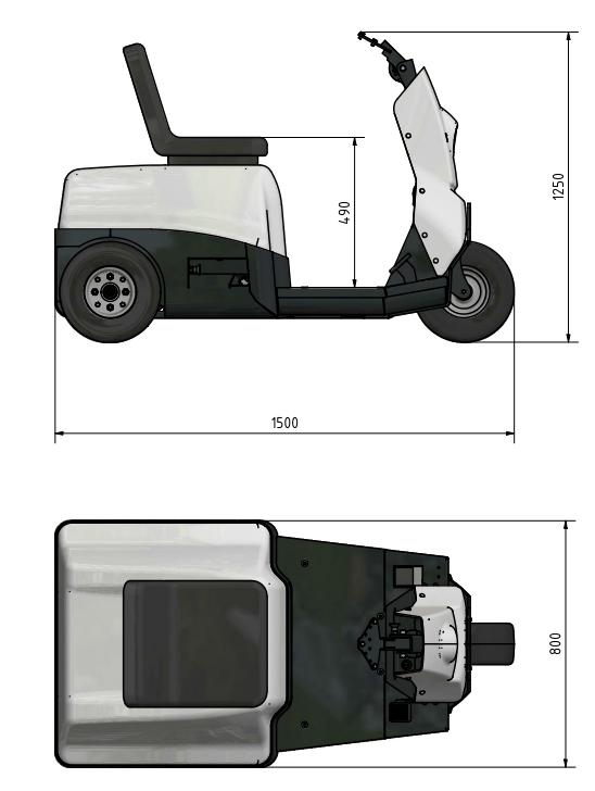 Technische afmetingen E-Nova
